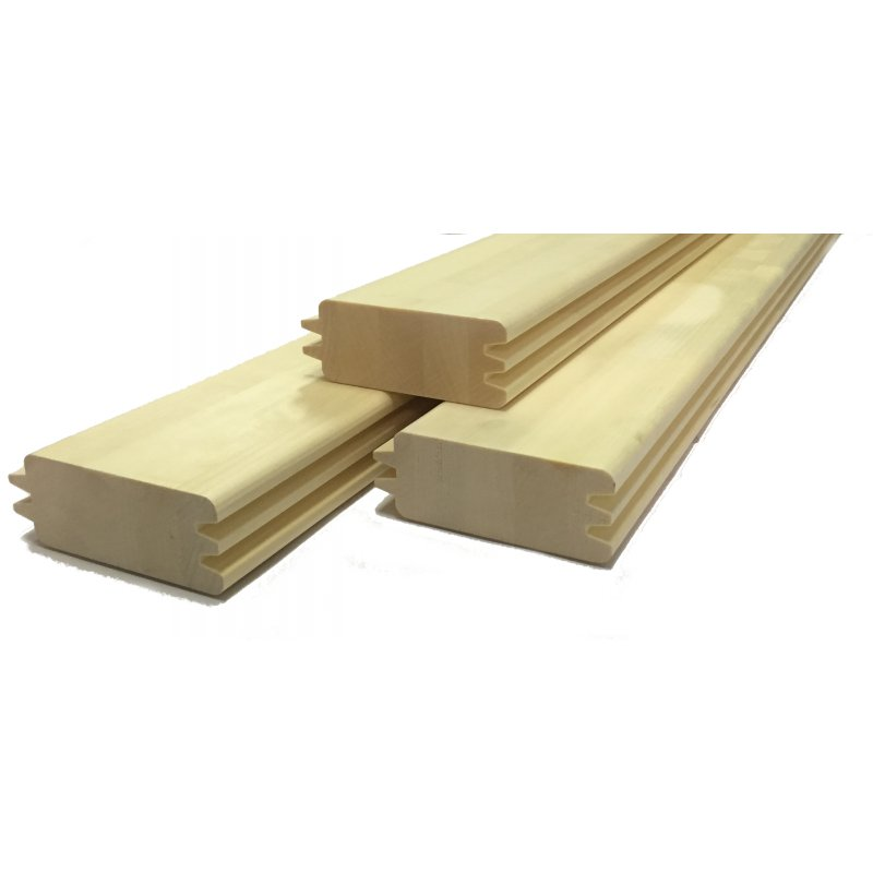 sauna blockbohlen espe astfrei 45x121mm 25 41. Black Bedroom Furniture Sets. Home Design Ideas