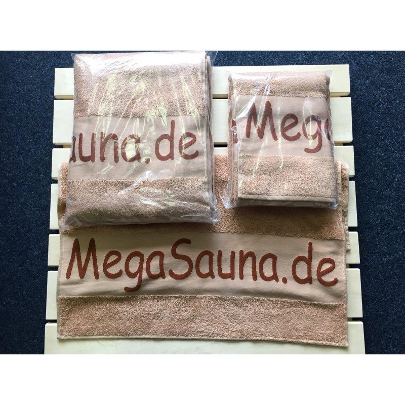 sauna handtuch megasauna in xl und xxl 19 90. Black Bedroom Furniture Sets. Home Design Ideas