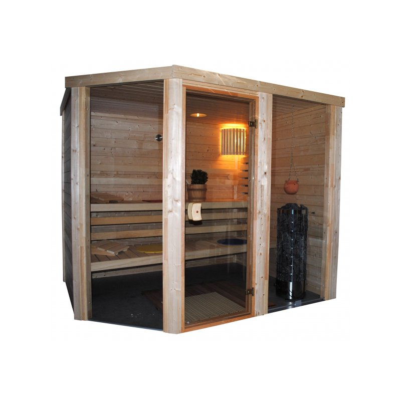 vario massivholz sauna bis 4 m als ma anfertigung. Black Bedroom Furniture Sets. Home Design Ideas