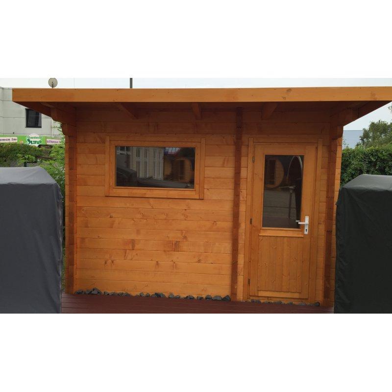 vario massivholz saunahaus life ausstellungsst ck. Black Bedroom Furniture Sets. Home Design Ideas