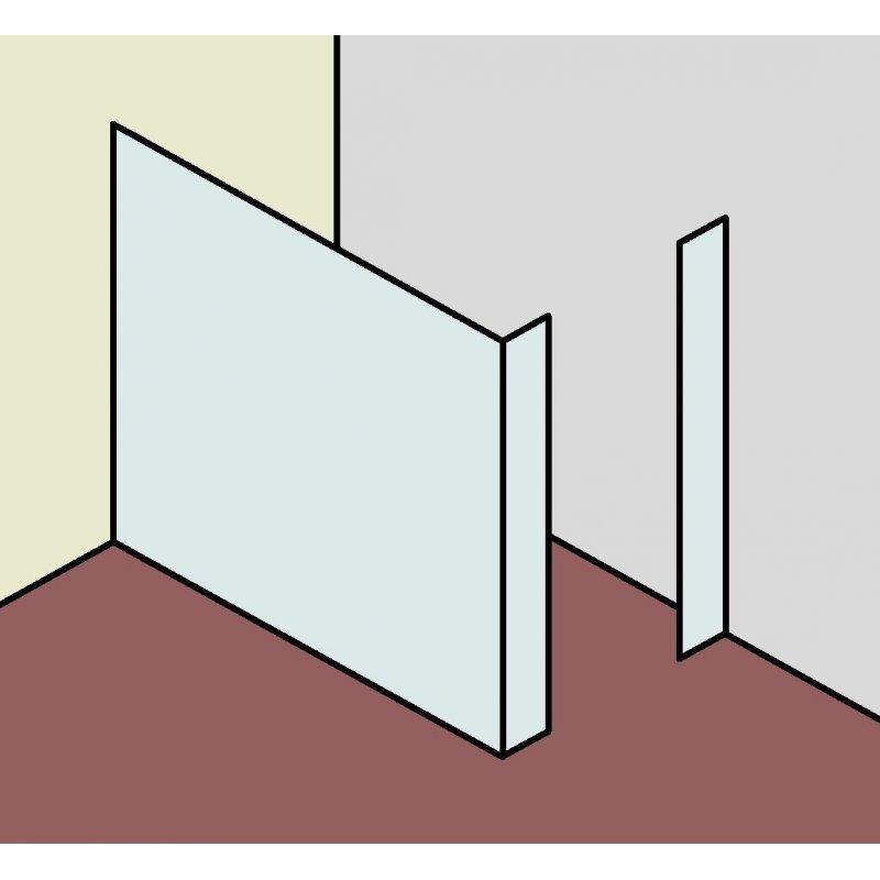 walk in duschabtrennung typ2 899 00. Black Bedroom Furniture Sets. Home Design Ideas