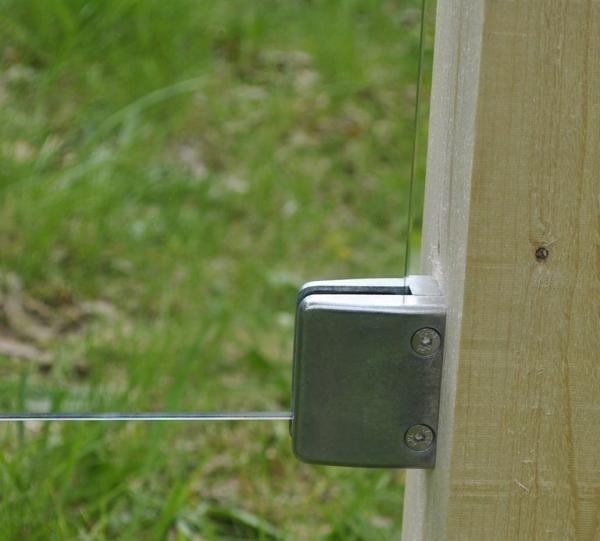 glas windschutz sichtschutz windfang sichtschutzzaun satiniert klar 50x180cm ebay. Black Bedroom Furniture Sets. Home Design Ideas