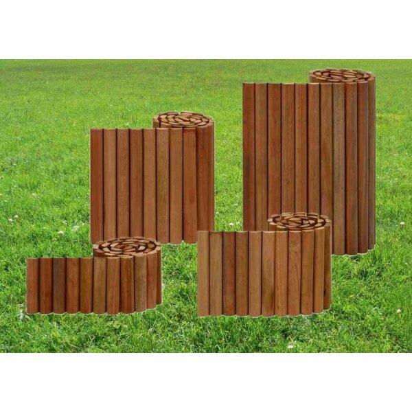 beetumrandung rasenkante aus bangkirai hartholz