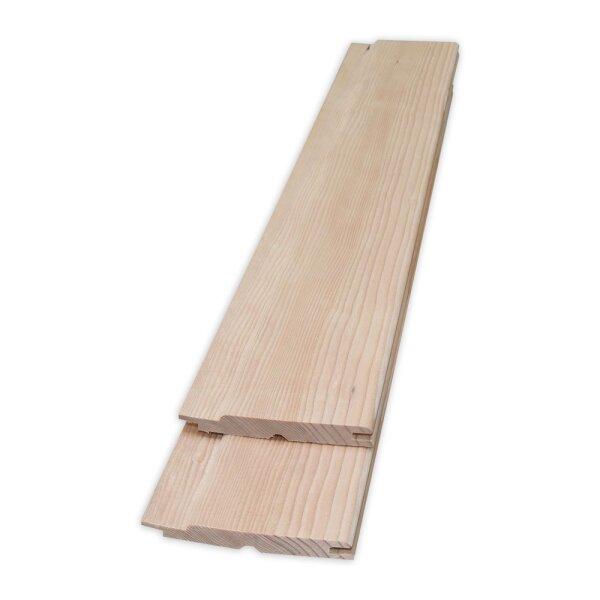 Sehr Sauna Profilholz Hemlock 12,5x94mm A-Sortierung, 11,99 € HE81